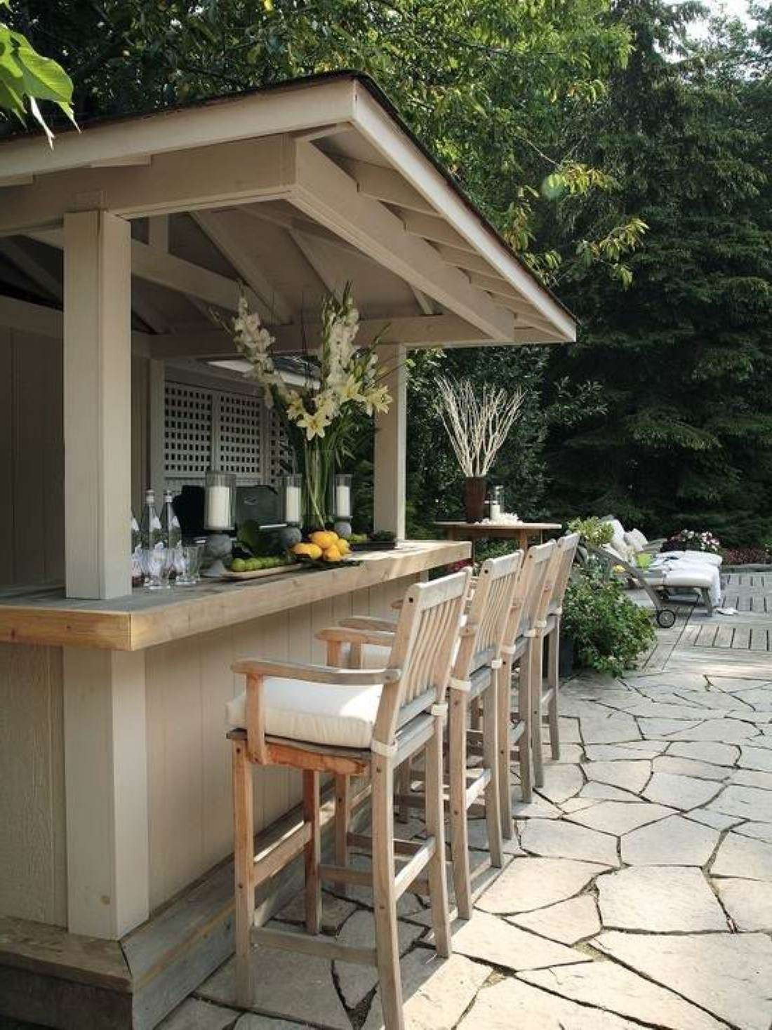 Best ideas about DIY Outdoor Bar Plans . Save or Pin DIY OUTDOOR BAR IDEAS 42 decoratoo Now.