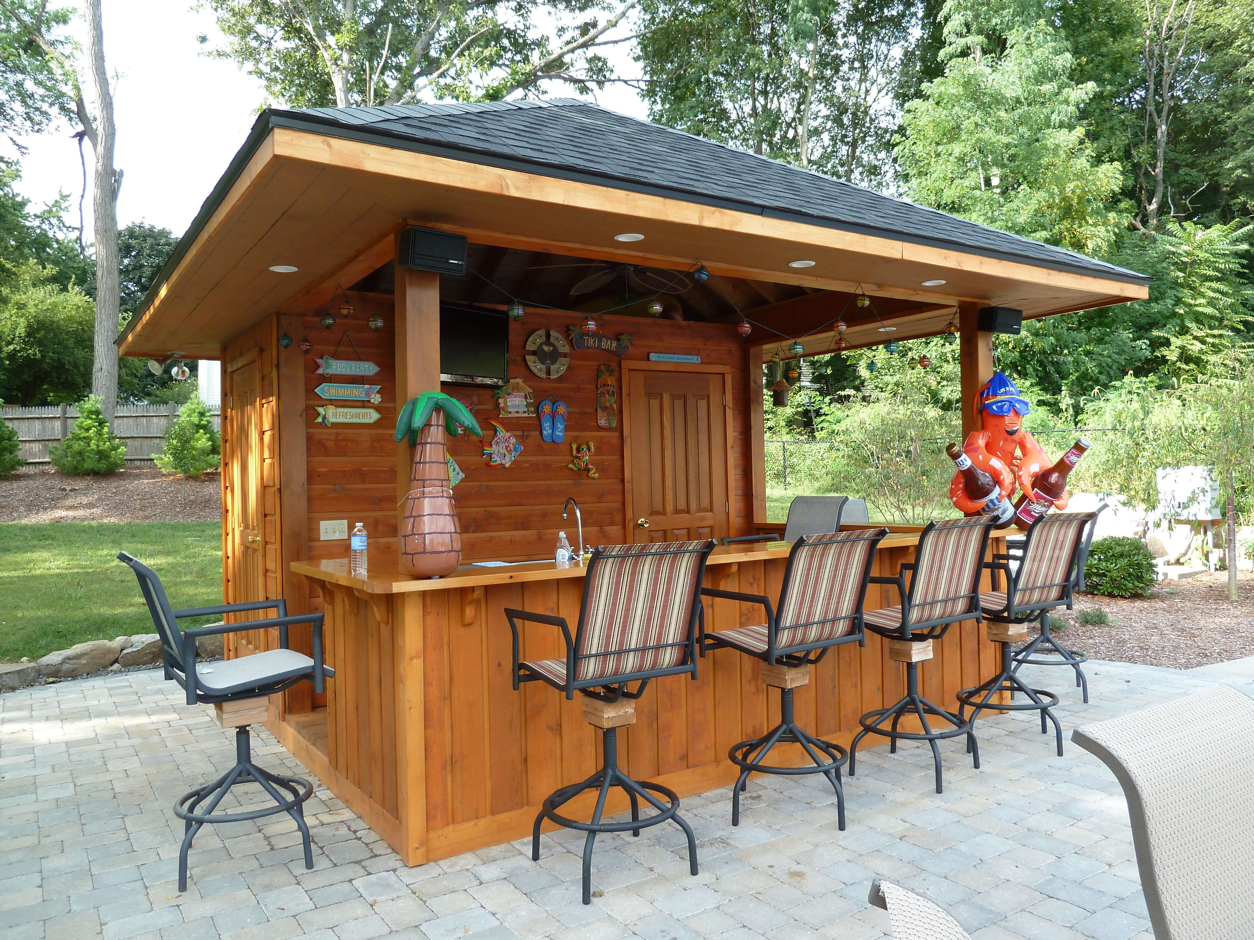 Best ideas about DIY Outdoor Bar Plans . Save or Pin DIY OUTDOOR BAR IDEAS 5 decoratoo Now.