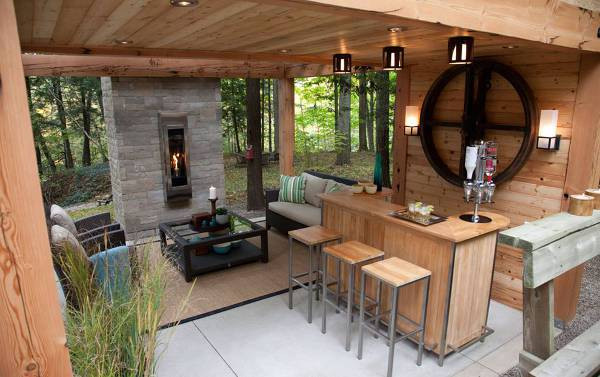 Best ideas about DIY Outdoor Bar Plans . Save or Pin 15 Outdoor Bar Designs Ideas Now.