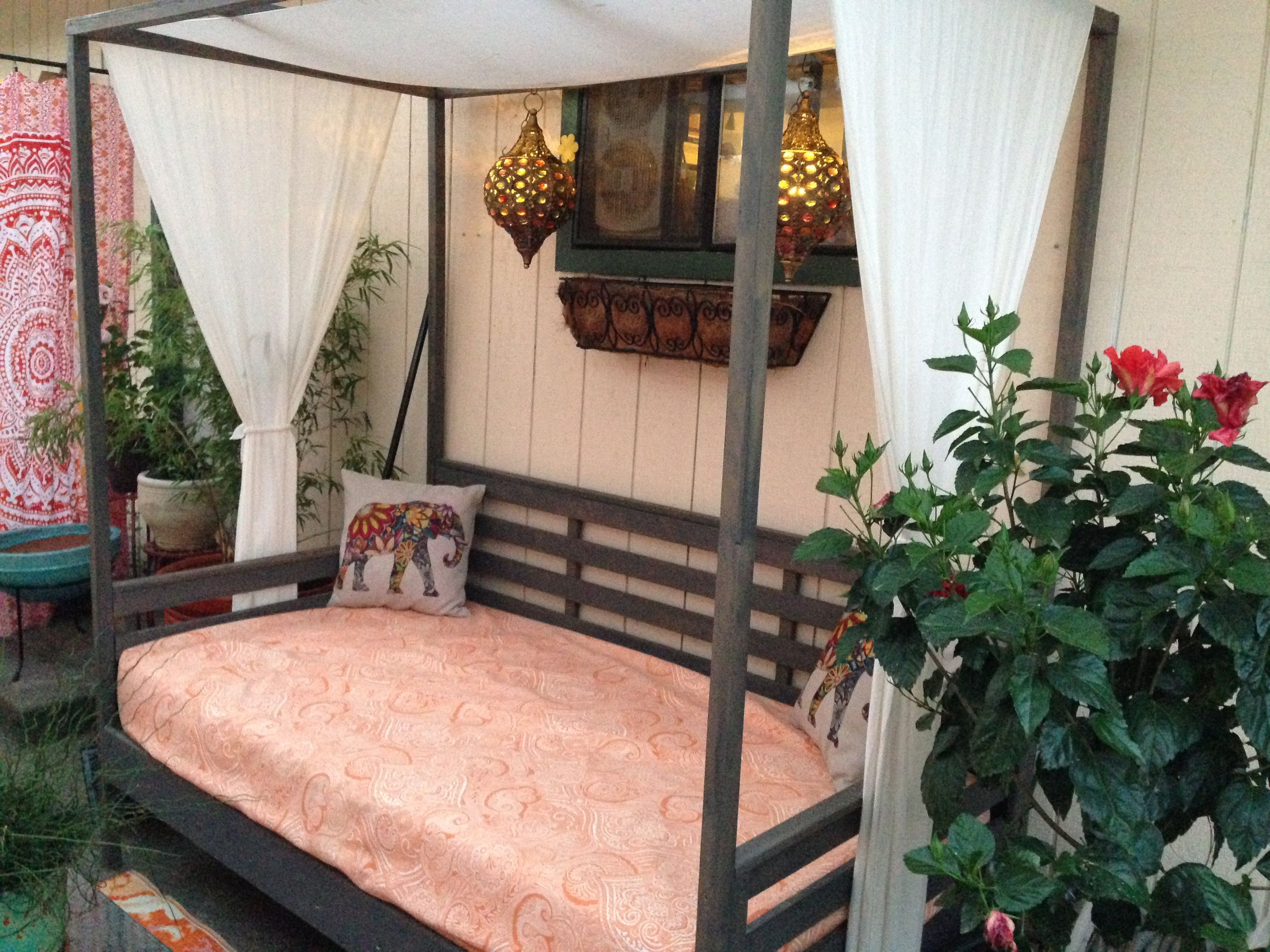 Best ideas about DIY Outdoor Bed . Save or Pin First Build Daybed Now.