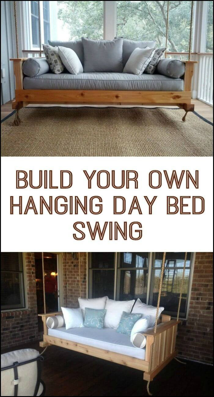 Best ideas about DIY Outdoor Bed . Save or Pin 21 Best DIY Porch Swing Bed Ideas and Designs for 2017 Now.