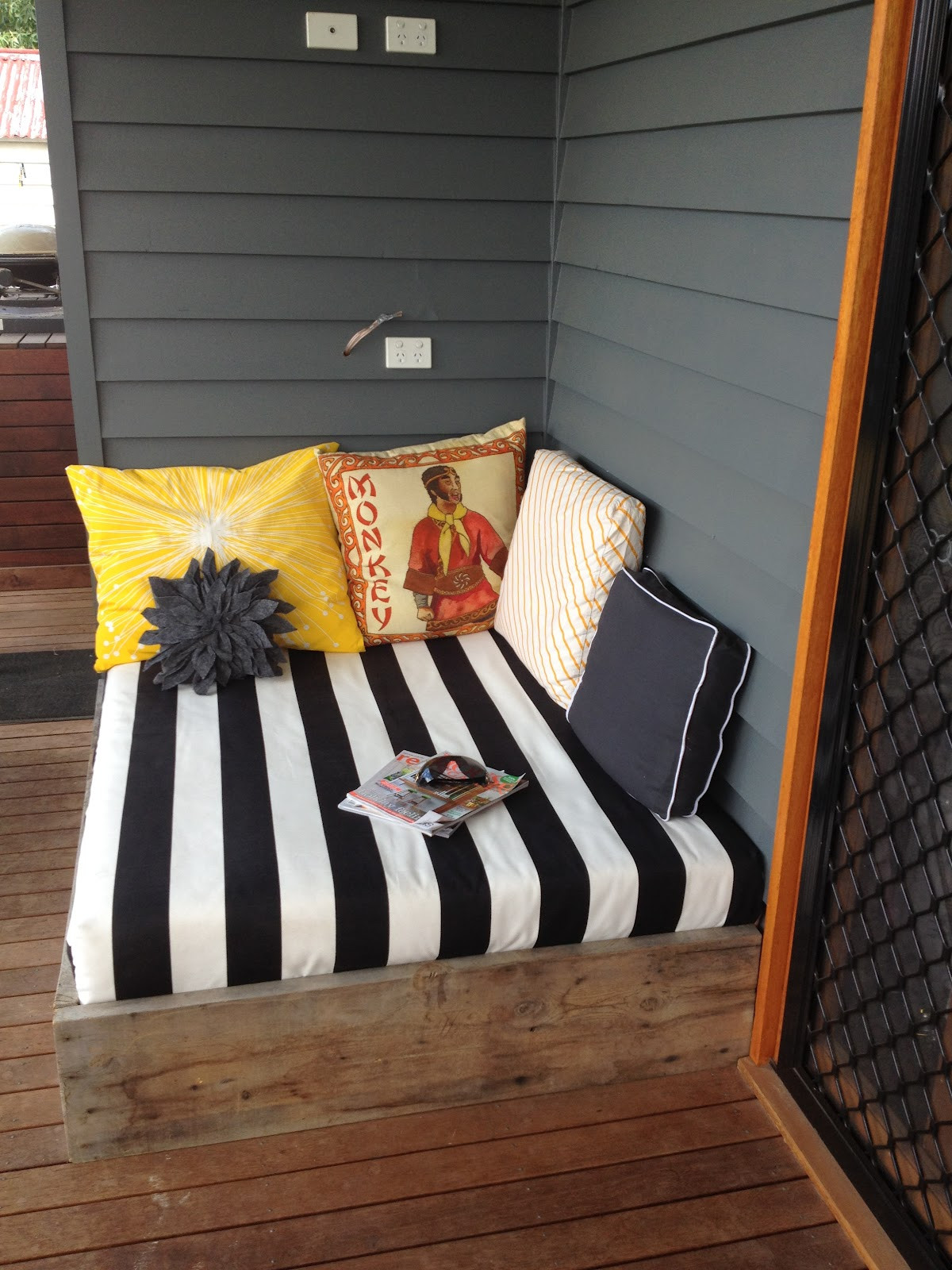 Best ideas about DIY Outdoor Bed . Save or Pin apprentice extrovert DIY Outdoor Day Bed Reveal Now.