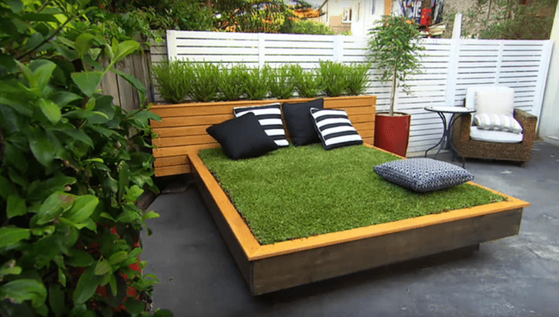 Best ideas about DIY Outdoor Bed . Save or Pin How to build DIY outdoor daybed out of green grass HomeCrux Now.