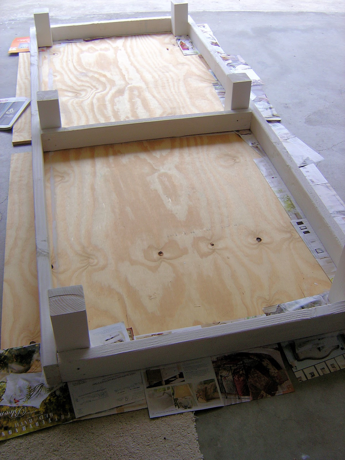Best ideas about DIY Outdoor Bed . Save or Pin California Livin Home DIY Outdoor Project Phase 2 Now.