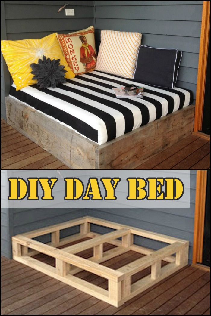 Best ideas about DIY Outdoor Bed . Save or Pin Best 25 Diy daybed ideas on Pinterest Now.