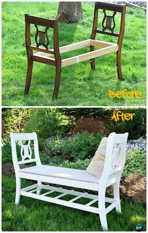 Best ideas about DIY Outdoor Benches . Save or Pin 40 Creative Outdoor Bench DIY Ideas and Tutorials 2017 Now.