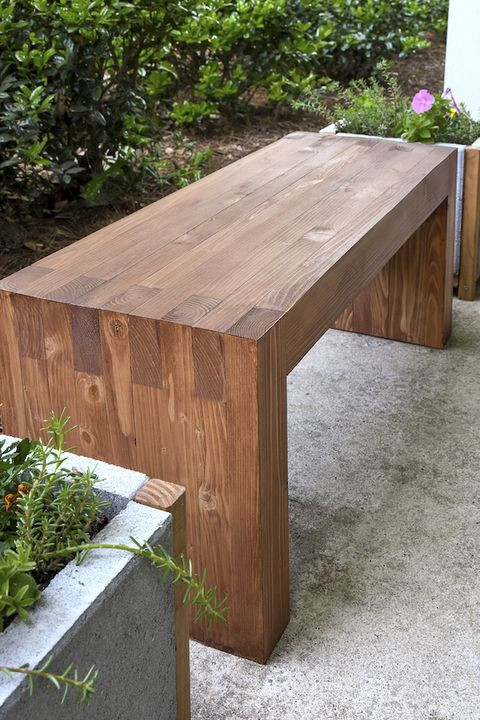 Best ideas about DIY Outdoor Benches . Save or Pin 22 DIY Garden Bench Ideas Free Plans for Outdoor Benches Now.