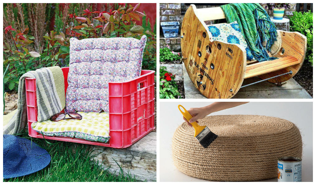 Best ideas about DIY Outdoor Furniture Ideas . Save or Pin 22 Easy and Fun DIY Outdoor Furniture Ideas Now.