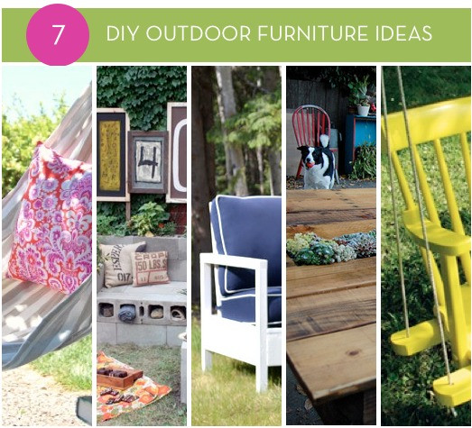 Best ideas about DIY Outdoor Furniture Ideas . Save or Pin diagenesis Crafty Homemade Outdoor Table Now.