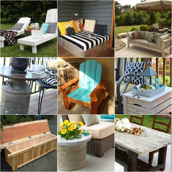Best ideas about DIY Outdoor Furniture Ideas . Save or Pin 18 DIY Patio Furniture Ideas For An Outdoor Oasis Now.