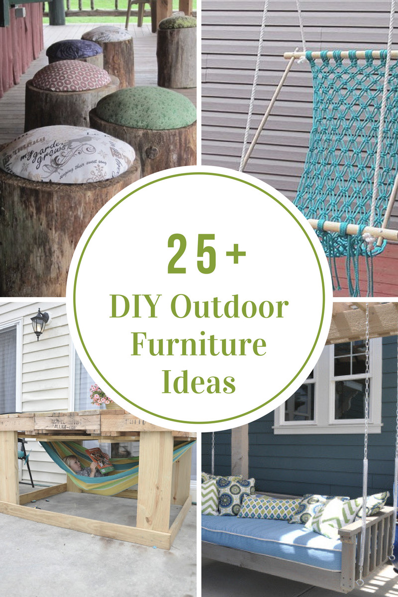 Best ideas about DIY Outdoor Furniture Ideas . Save or Pin Outdoor Furniture The Idea Room Now.