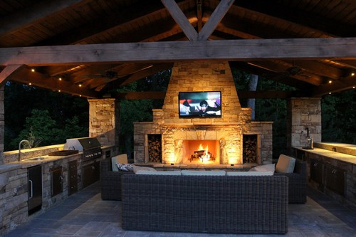 Best ideas about DIY Outdoor Kitchen Kits . Save or Pin outdoor kitchen kits costco Now.