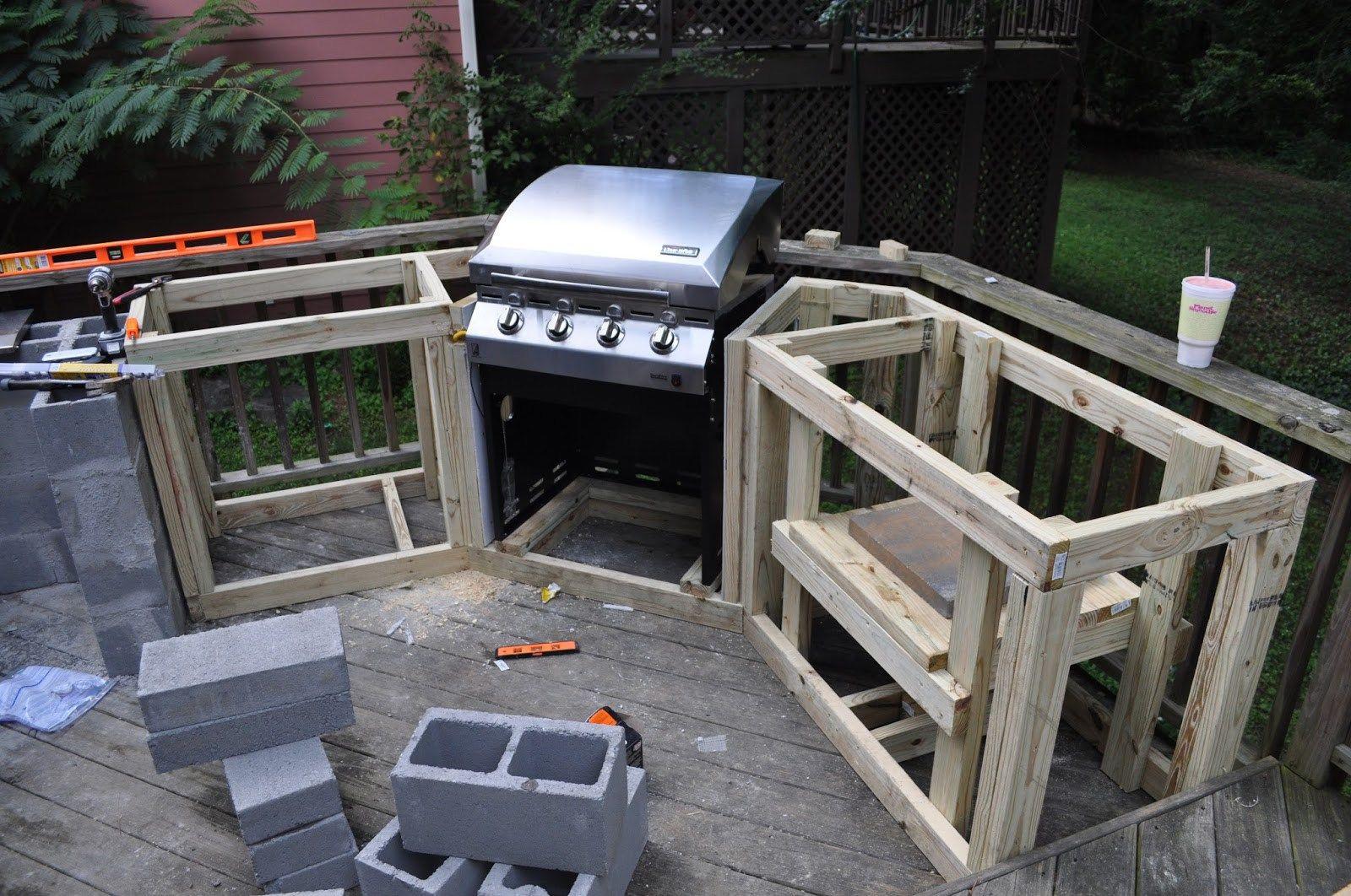 Best ideas about DIY Outdoor Kitchen Kits . Save or Pin Outdoor Kitchen Frame Kits DIY — 3 Design Kitchen World Now.