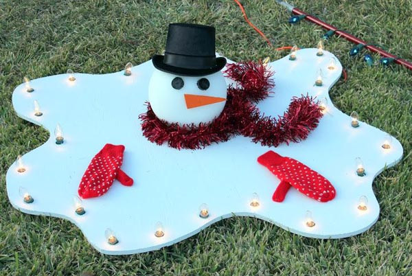 Best ideas about DIY Outdoor Lawn Christmas Decorations . Save or Pin DIY Christmas Decorations Christmas Celebration All Now.