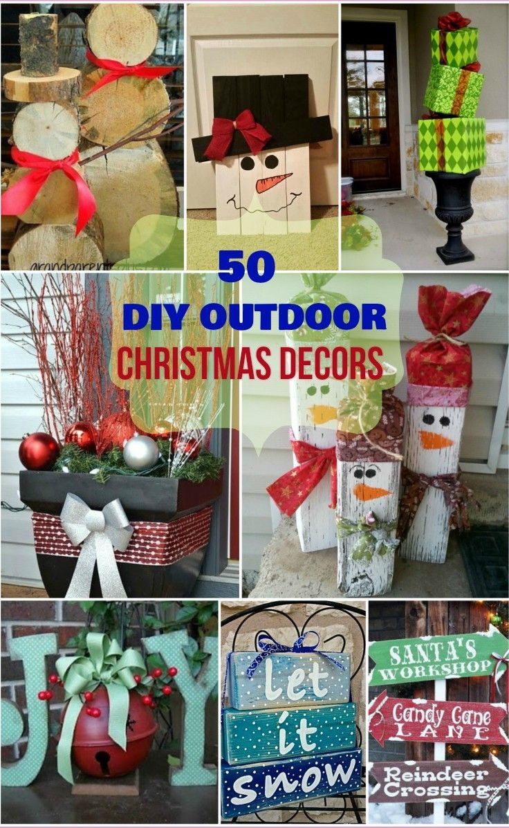 Best ideas about DIY Outdoor Lawn Christmas Decorations . Save or Pin 50 DIY Outdoor Christmas decorations you would surely love Now.