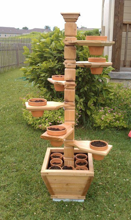 Best ideas about DIY Outdoor Plant Stand . Save or Pin DIY Plant Stand Ideas DIY and Crafts Now.
