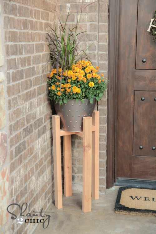 Best ideas about DIY Outdoor Plant Stand . Save or Pin 23 DIY Plant Stands That Hold The Product of Your Green Thumb Now.