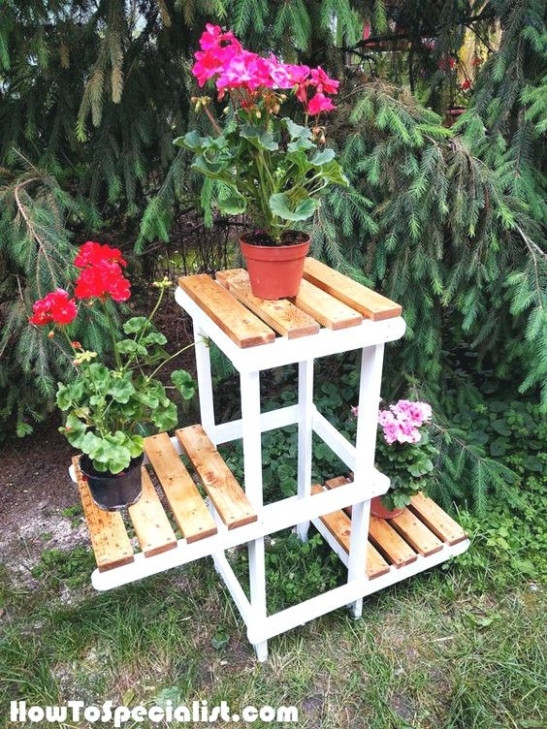 Best ideas about DIY Outdoor Plant Stand . Save or Pin 25 Collection of Diy Outdoor Plant Stand Now.