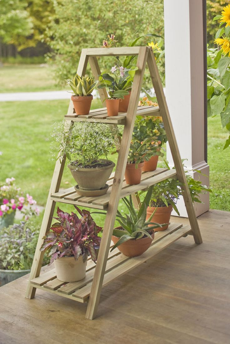 Best ideas about DIY Outdoor Plant Stand . Save or Pin Best 25 Outdoor plant stands ideas on Pinterest Now.