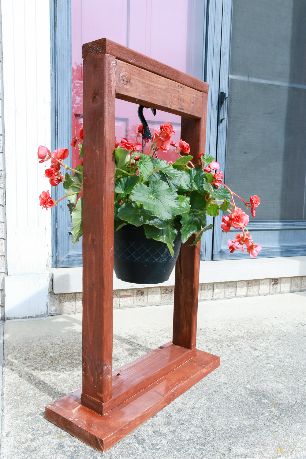 Best ideas about DIY Outdoor Plant Stand . Save or Pin DIY Hanging Plant Stand The Weathered Fox Now.