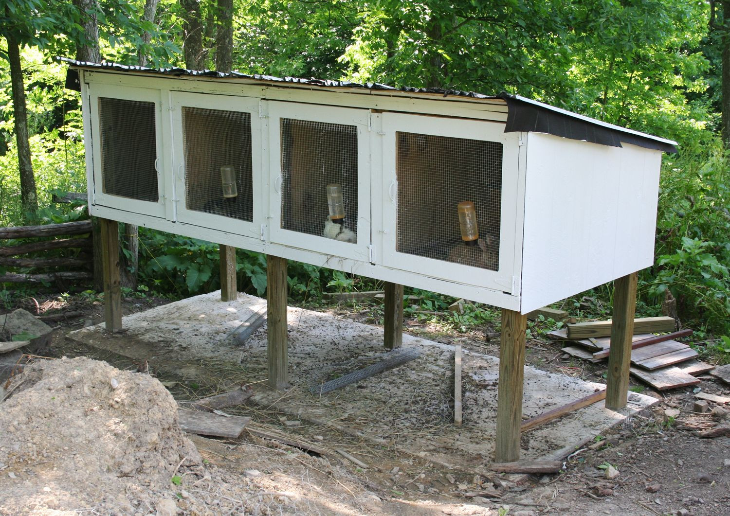 Best ideas about DIY Outdoor Rabbit Cage . Save or Pin American Woodworker Plans Now.