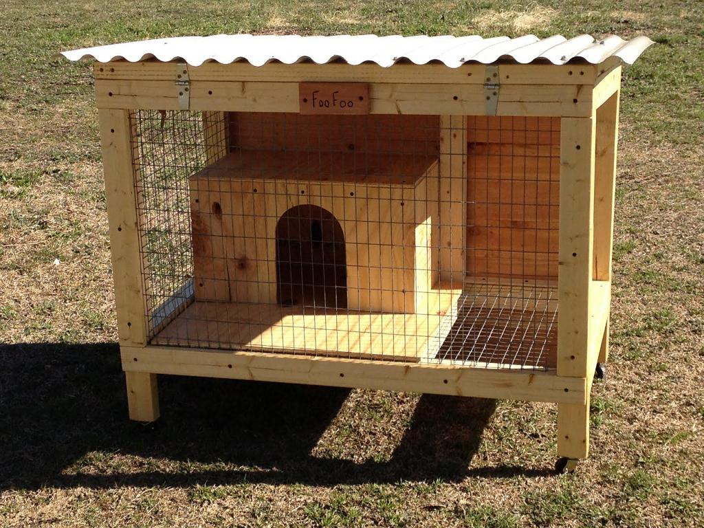 Best ideas about DIY Outdoor Rabbit Cage . Save or Pin DIY Rabbit Hutch Designs Plans Now.