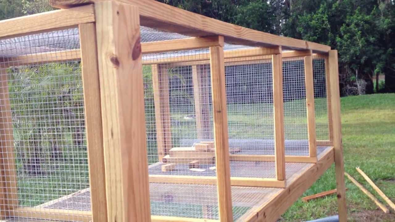 Best ideas about DIY Outdoor Rabbit Cage . Save or Pin How to Build a Rabbit Hutch Part 1 Now.