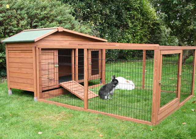 Best ideas about DIY Outdoor Rabbit Cage . Save or Pin DIY Outdoor Rabbit Hutch Now.