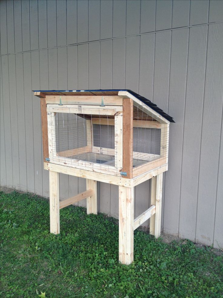 Best ideas about DIY Outdoor Rabbit Cage . Save or Pin 25 best images about DIY rabbit cage on Pinterest Now.