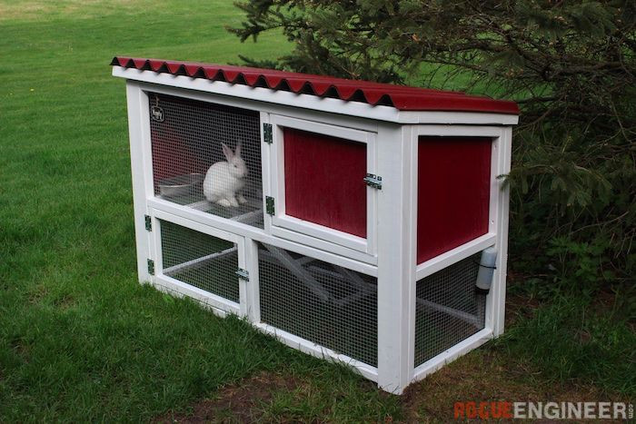 Best ideas about DIY Outdoor Rabbit Cage . Save or Pin DIY Rabbit Hutch Plans Free & Easy Now.