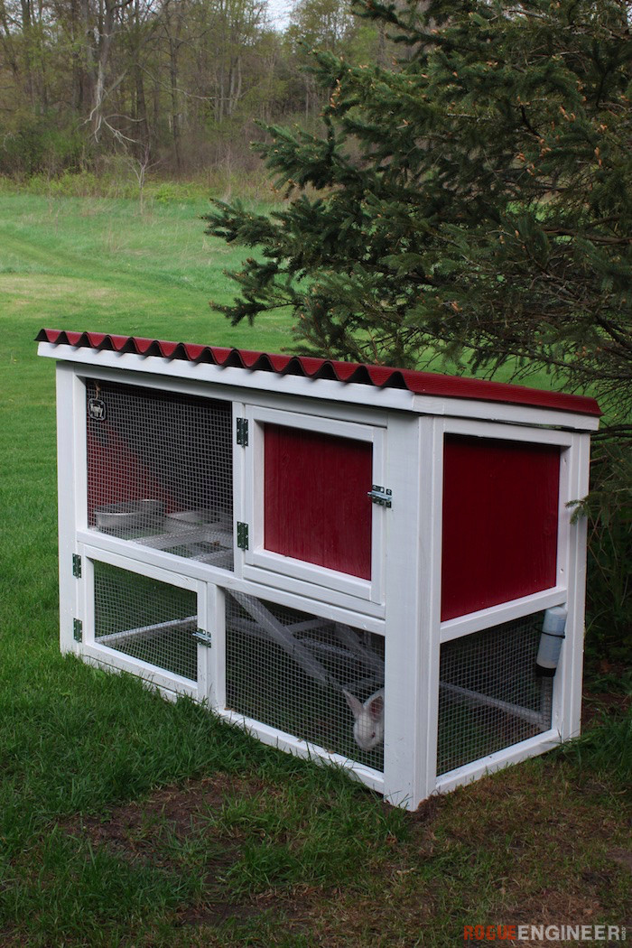 Best ideas about DIY Outdoor Rabbit Cage . Save or Pin 10 DIY Rabbit Cages And Hutches For Your Fluffy Friends Now.