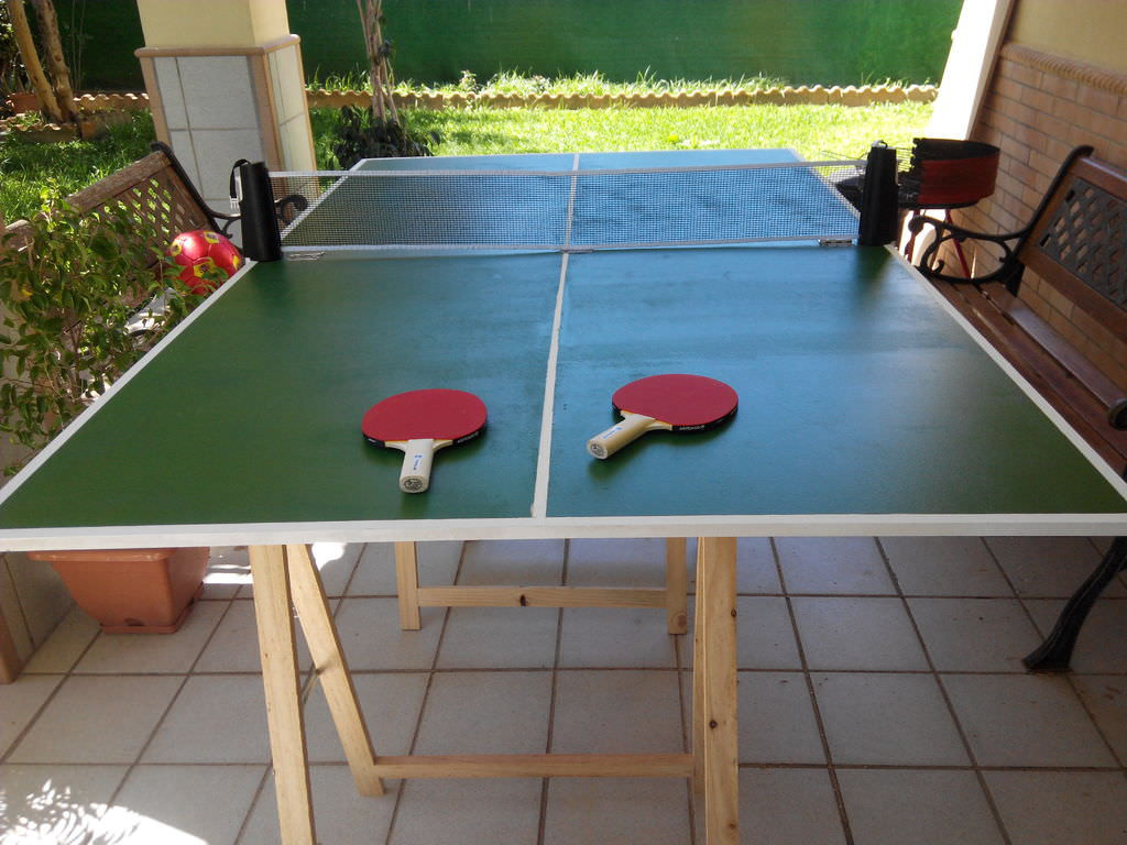 Best ideas about DIY Outside Ping Pong Table . Save or Pin 10 Crafty DIY Ping Pong Table Plans [Free] MyMyDIY Now.