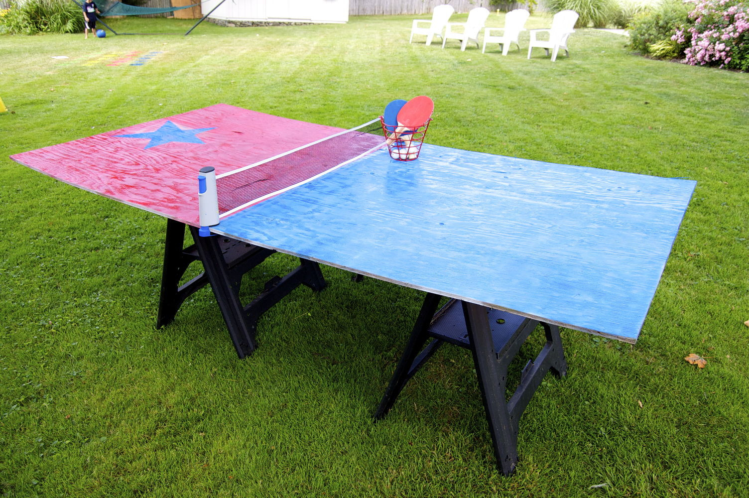 Best ideas about DIY Outside Ping Pong Table . Save or Pin 13 Crazy Fun Yard Games Your Family Will Flip for This Now.