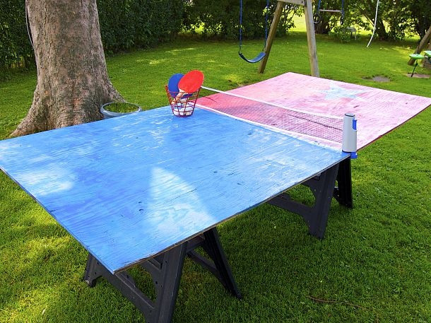 Best ideas about DIY Outside Ping Pong Table . Save or Pin 17 Best images about ping pong table on Pinterest Now.