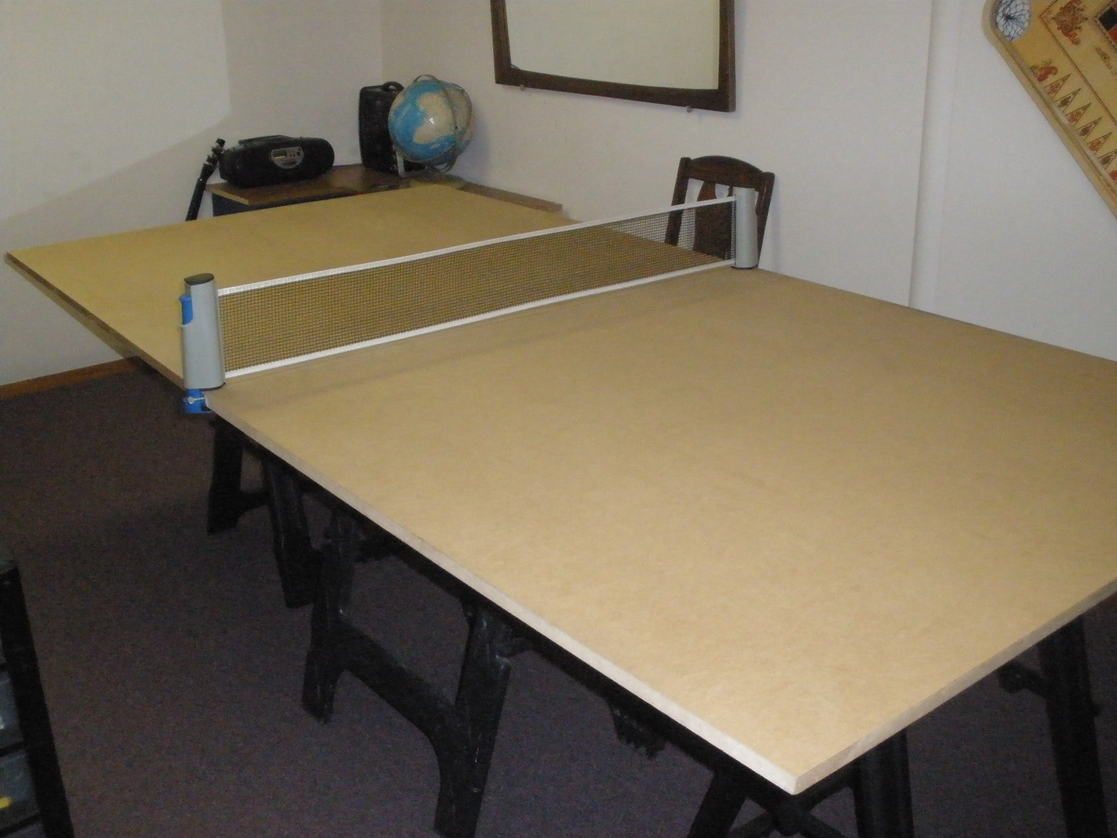 Best ideas about DIY Outside Ping Pong Table . Save or Pin DIY Ping Pong Table Now.