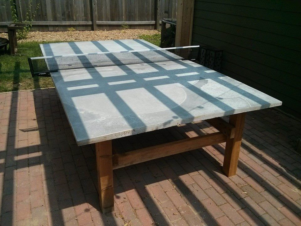 Best ideas about DIY Outside Ping Pong Table . Save or Pin How to Build a Concrete Ping Pong Table in 2019 Now.