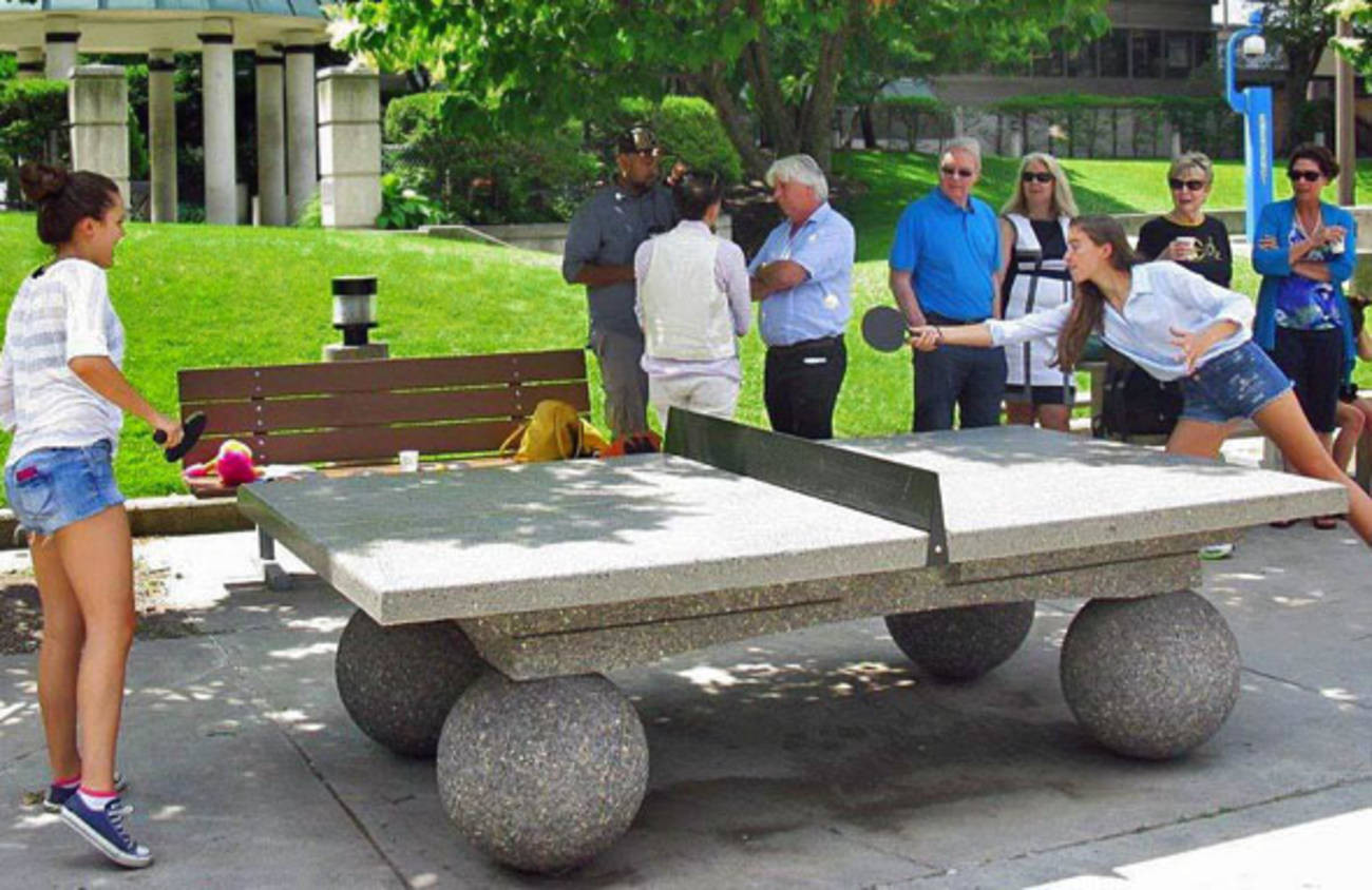 Best ideas about DIY Outside Ping Pong Table . Save or Pin Where to play outdoor ping pong in Toronto Now.