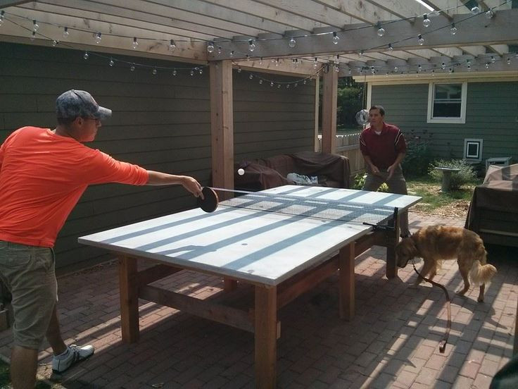 Best ideas about DIY Outside Ping Pong Table . Save or Pin 17 Best ideas about Ping Pong Table on Pinterest Now.