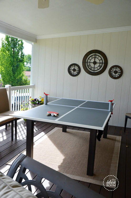 Best ideas about DIY Outside Ping Pong Table . Save or Pin Ping Pong Table on Pinterest Now.