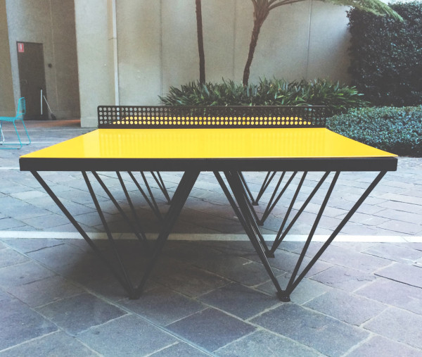 Best ideas about DIY Outside Ping Pong Table . Save or Pin An Outdoor Ping Pong Table for Design Lovers Design Milk Now.