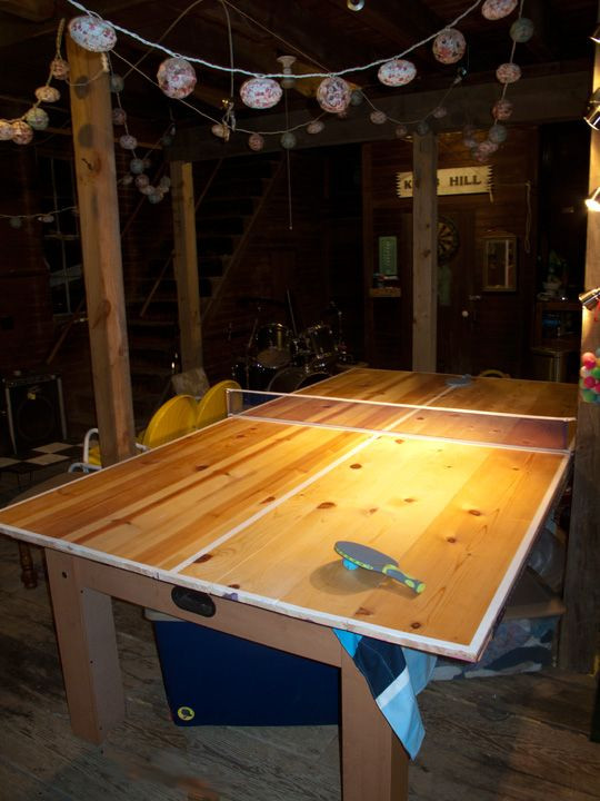 Best ideas about DIY Outside Ping Pong Table . Save or Pin Homemade Ping Pong Table For the Home Now.