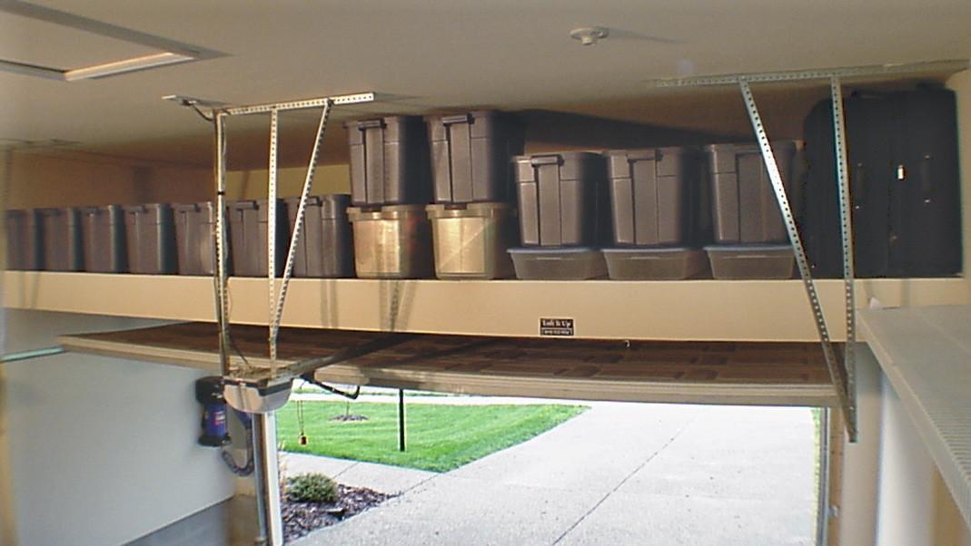 Best ideas about DIY Overhead Garage Storage Plans . Save or Pin Garage Mezzanine Plans Now.