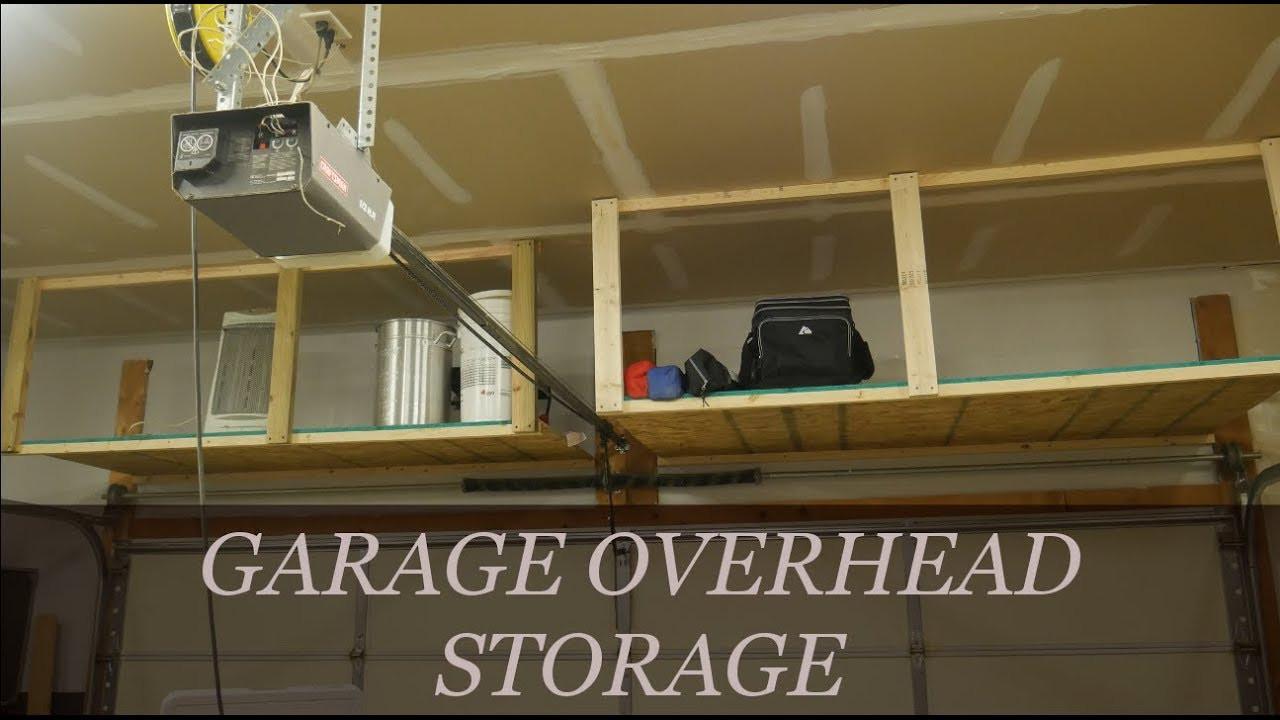 Best ideas about DIY Overhead Garage Storage Plans . Save or Pin Easy DIY Overhead Garage Storage Rack Now.