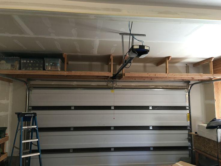 Best ideas about DIY Overhead Garage Storage Plans . Save or Pin 2 x 4 overhead garage storage QuickCrafter Now.