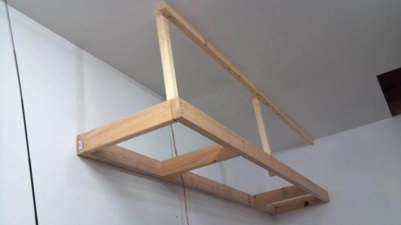 Best ideas about DIY Overhead Garage Storage Plans . Save or Pin 4x8 overhead storage SafeRack vs Fleximounts Bogleheads Now.