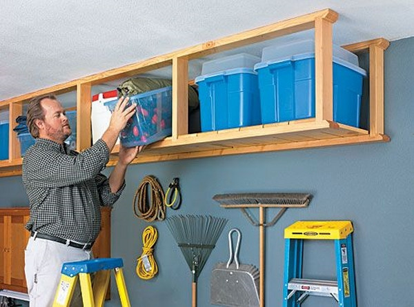 Best ideas about DIY Overhead Garage Storage Plans . Save or Pin Overhead garage storage – ideas for your vertical space Now.