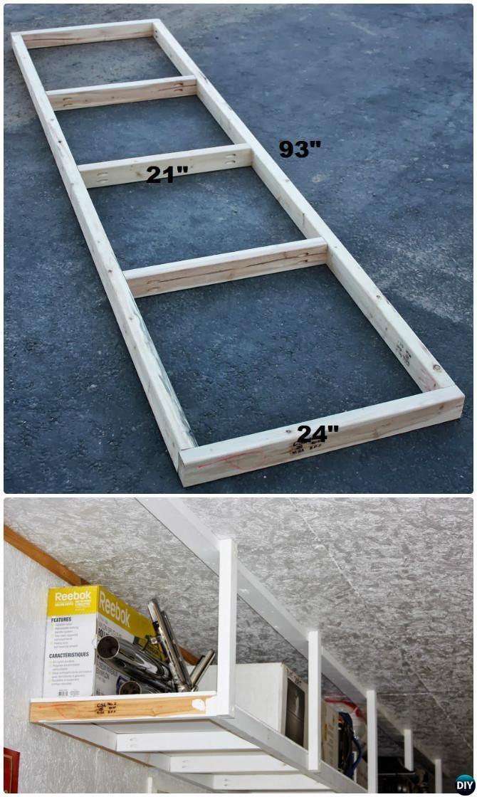 Best ideas about DIY Overhead Garage Storage Plans . Save or Pin Best 25 Overhead garage storage ideas on Pinterest Now.
