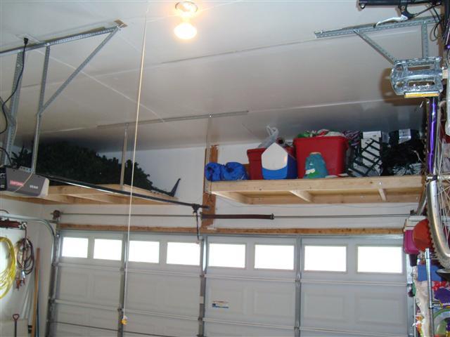 Best ideas about DIY Overhead Garage Storage Plans . Save or Pin Garage Overhead Storage DIY Be es Brilliant Garage Plans Now.