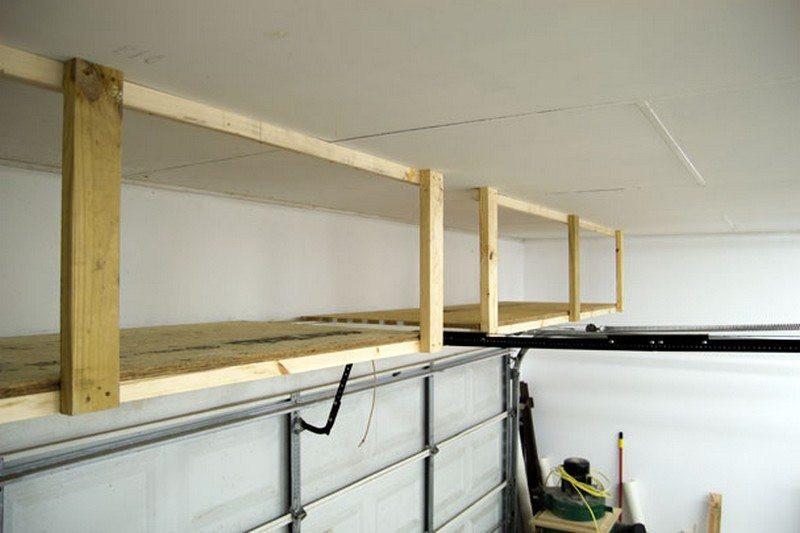 Best ideas about DIY Overhead Garage Storage Plans . Save or Pin DIY Garage Ceiling Storage – The Owner Builder Network Now.