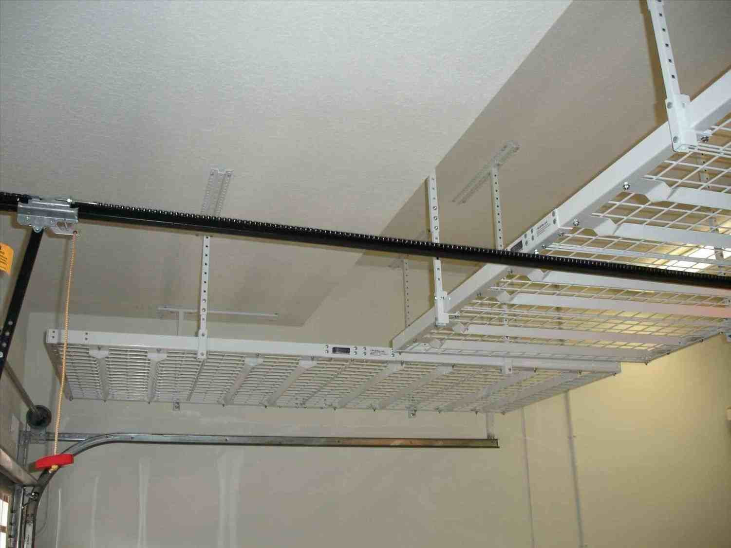 Best ideas about Diy Overhead Garage Storage Pulley System . Save or Pin Garage Overhead Storage Pulley Systems ARCH DSGN Now.